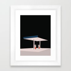 TANKSTATION Framed Art Print