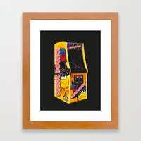 Mum, can I have 10p for another go? Framed Art Print