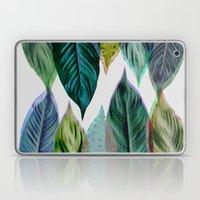 Green Leaves Laptop & iPad Skin