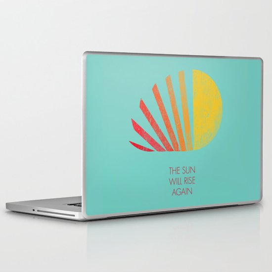The Sun Will Rise Again Laptop & iPad Skin
