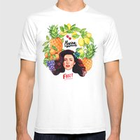 FROOT Mens Fitted Tee White SMALL