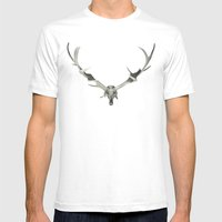 Dead King Mens Fitted Tee White SMALL