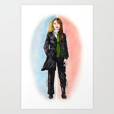 2 OLIVIAS DUNHAM (FRINGE) Art Print