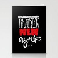 Brooklyn New York Stationery Cards