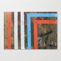 MADRID STRIPES Canvas Print