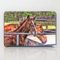 Horses And Gate iPad Case