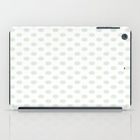 Green Spotty Pattern  iPad Case