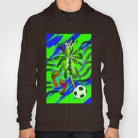 Soccer on the beach Hoody