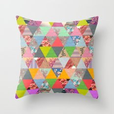 Lost in ▲ Throw Pillow
