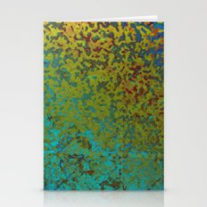Colorful Corroded Backgr… Stationery Cards