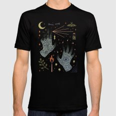 A Curse Upon You! Black Mens Fitted Tee SMALL