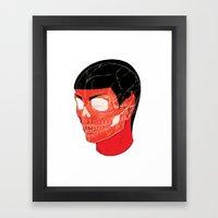 Red Vulcan Framed Art Print
