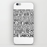 The Manifesto iPhone & iPod Skin