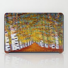 Birch trees iPad Case