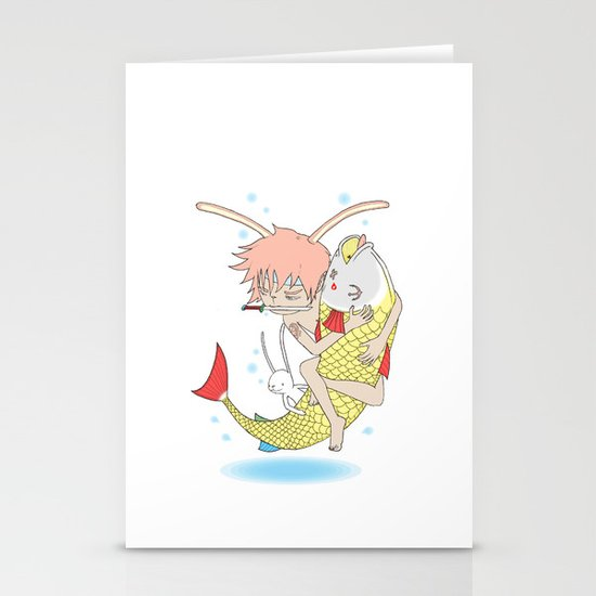 安寧 HELLO - FISHING EP003 Stationery Card