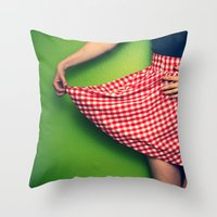 Pleased To Meet You~ Throw Pillow