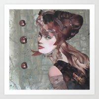 Taupe Art Print