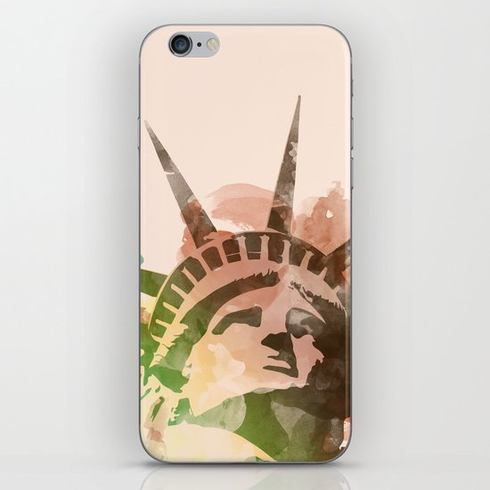Miss Liberty iPhone & iPod Skin