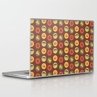 food Laptop & iPad Skins featuring Food by Elly Whiley
