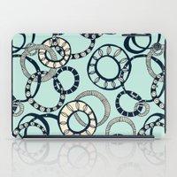 Honolulu hoopla pale blue iPad Case