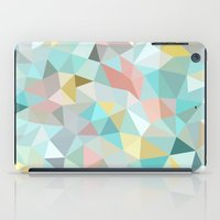 iPad Case featuring Pastel Tris by Beth Thompson
