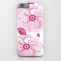 Twirly Rose iPhone 6 Slim Case