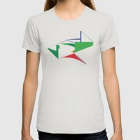 Reformed Church Womens Fitted Tee Silver SMALL