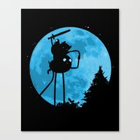 A.T. - With Finn and Jake Canvas Print
