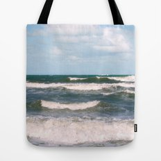 Ocean Waves Tote Bag