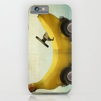 iPhone & iPod Case featuring Banana Buggy by vin zzep