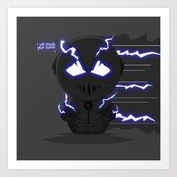 ChibizPop: Zoom, Zoom! Art Print