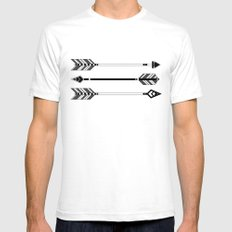 Arrows Mens Fitted Tee White SMALL