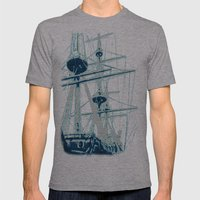 Light's storm Mens Fitted Tee Athletic Grey SMALL