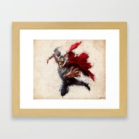 The Mighty One Framed Art Print