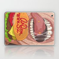 Fastfood illustration  Laptop & iPad Skin