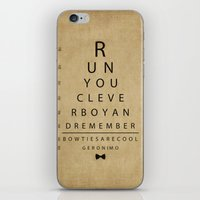 Run You Clever Boy - Doc… iPhone & iPod Skin