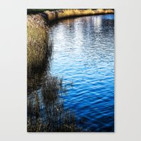 Waterfront  Canvas Print