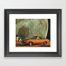 Just another day on earth Framed Art Print