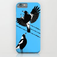 Magpies: learn to fly iPhone 6 Slim Case
