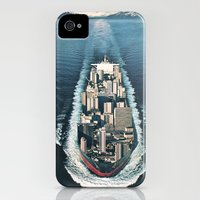 iPhone 4s & iPhone 4 Cases featuring Mass Migration by Eugenia Loli