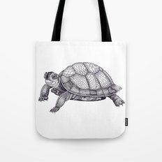 Turtle Pattern Tote Bag