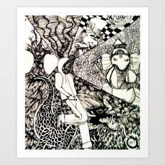 Trip Art Print