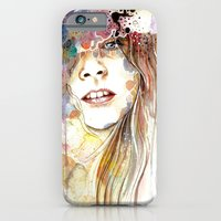 iPhone & iPod Case featuring Secrets That Engulf by Veronika Weroni Vajdová