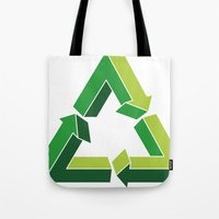 Recycle Infinitely Tote Bag