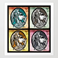 Quadruple Italian Express Art Print