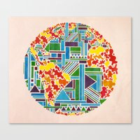 And Then, There Was Eart… Canvas Print