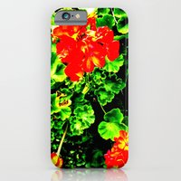 Red Flowers (Edited)  iPhone 6 Slim Case