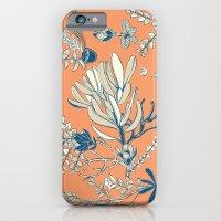 Orange Cradle Flora iPhone 6 Slim Case