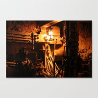 Mine. Canvas Print