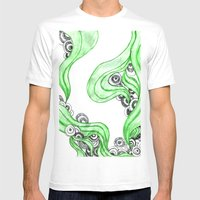 FANTASIA VERDE Mens Fitted Tee White SMALL
